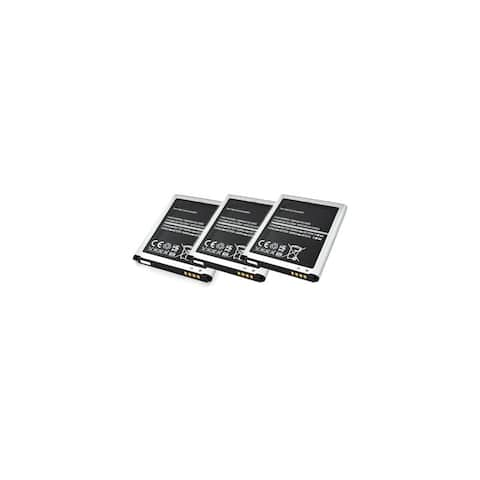 Replacement Battery For Samsung Galaxy S3 Verizon Mobile Phones - EB-L1G6LLA (2100mAh, 3.8V, Lithium Ion) - 3 Pack