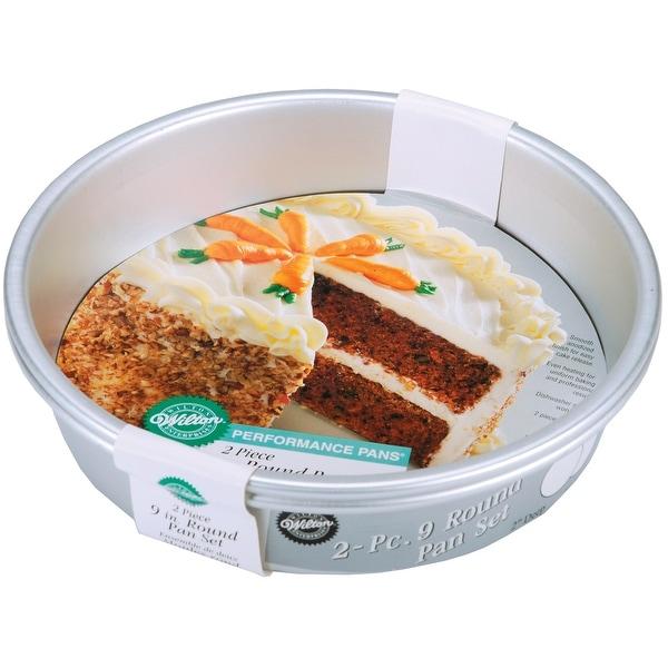 "Performance Cake Pans 2/Pkg-Round 9""X2"""