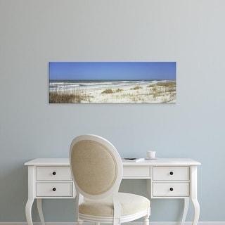 Easy Art Prints Panoramic Image 'Gulf of Mexico, St. Joseph Peninsula Park, Florida Panhandle, Florida' Canvas Art