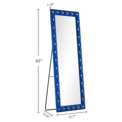 KOHROS Art Floor Mirror 22x65 Inch Pick - N/A