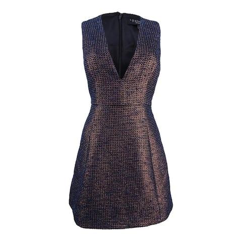 Laundry by Shelli Segal Women's Jacquard Fit & Flare Dress