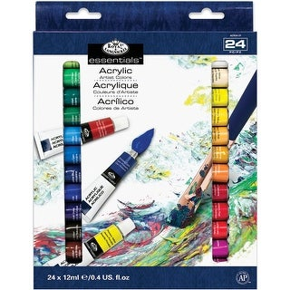 Acrylic Paint 12Ml 24/Pkg-