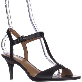 COACH Melodie Heeled Sandals, Black