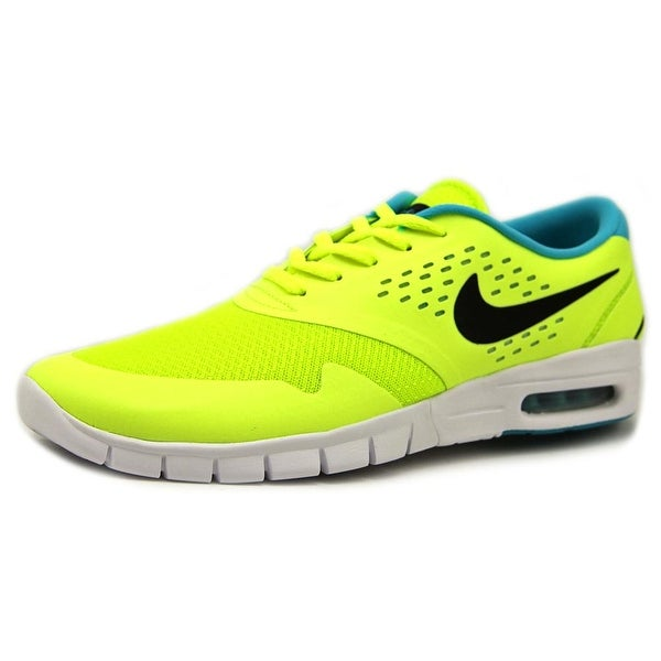 0735f9b9af10 Shop Nike SB Eric Koston 2 Max Men Round Toe Synthetic Yellow Skate ...