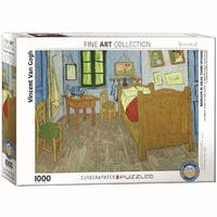 Vincent Van Gogh Bedroom In Arles 1000 Piece Puzzle, 1,000 Piece Puzzles by
