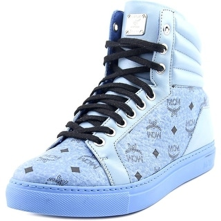 MCM Carryover High Men Leather Fashion Sneakers