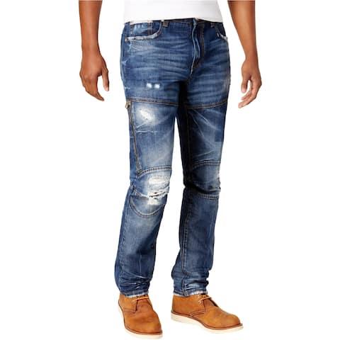 Heritage Mens Zipper Regular Fit Jeans - 32W x 33L