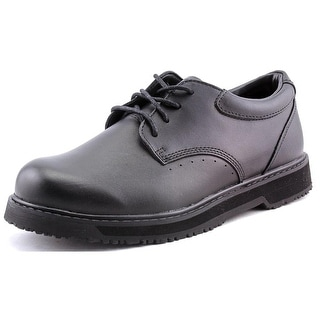 Propet Maxgrip Round Toe Leather Work Shoe