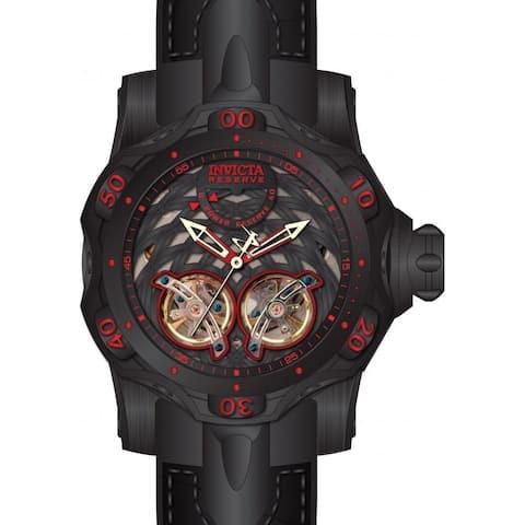 Invicta Men's 34474 'Reserve' Venom Automatic Black Stainless Steel Watch