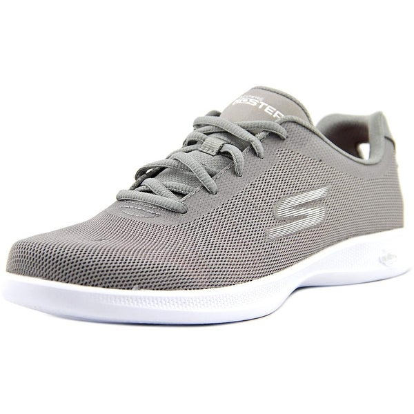Skechers Go Step Lite-Endure Women Round Toe Canvas Gray Running Shoe