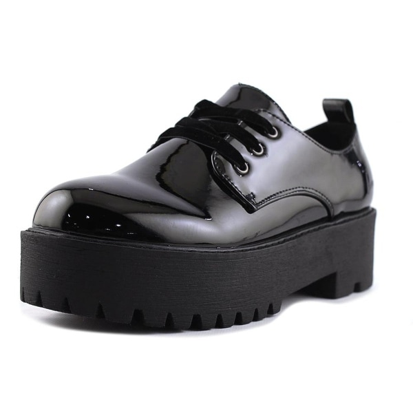 Coolway Emmy Women Round Toe Patent Leather Oxford
