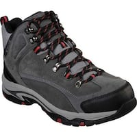 Skechers Men's Relaxed Fit Trego Marso Boot Gray