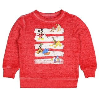 Disney Mickey Mouse Toddler Boys' Friends Vintage Distressed Pullover Top