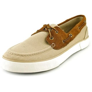 Polo Ralph Lauren Rylander   Moc Toe Canvas  Boat Shoe