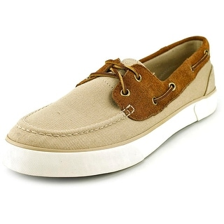 Polo Ralph Lauren Rylander Moc Toe Canvas Boat Shoe
