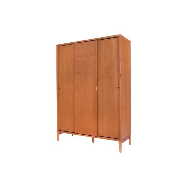 Memomad Charme Solid Wood Armoire - 3 Doors
