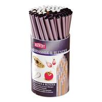 Derwent Blender and Burnisher Pencils in Tub, Colorless, Pack of 72