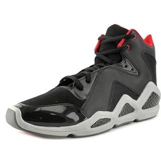 Reebok Kamikaze III Mid Round Toe Leather Basketball Shoe