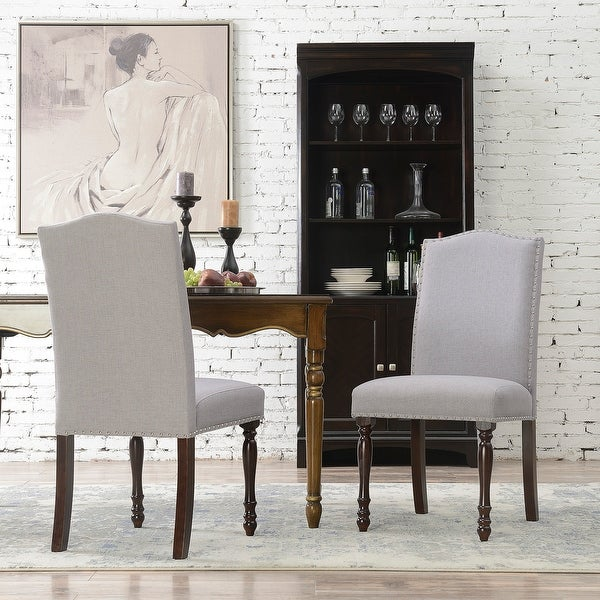 Shop Upholstered Accent Dining Chair Classic Parsons Set