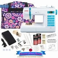 Janome DC2013 Computerized Sewing Machine W/ Bonus Bundle