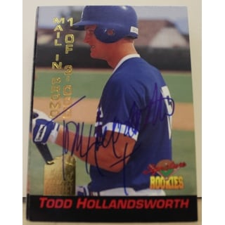 Todd Hollandsworth Los Angeles Dodgers Autographed 1994 Signature Rookies Mail In Promo Card S3 Thi