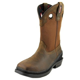 Rocky RKW0151 Men W Square Toe Leather Brown Western Boot