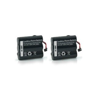 Replacement 3.6V 600mAh Battery for V-Tech LBA 3300/ TL26506/ 2423/ 2463 Phone Models (2 Pack)