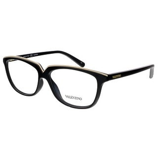 Valentino V2628 001 Black Rectangular Valentino Eyewear