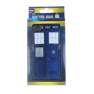 Doctor Who iPhone 4 Hard Snap Case: TARDIS
