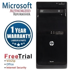 Refurbished HP Pro 3405 Tower AMD A6-3620 2.3G 8G DDR3 1TB DVD WIN 10 Pro 64 1 Year Warranty