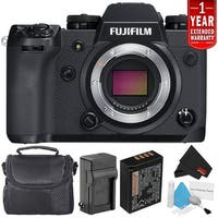 Fujifilm X-H1 Mirrorless Digital Camera (Body Only Bundle) (Intl Model)