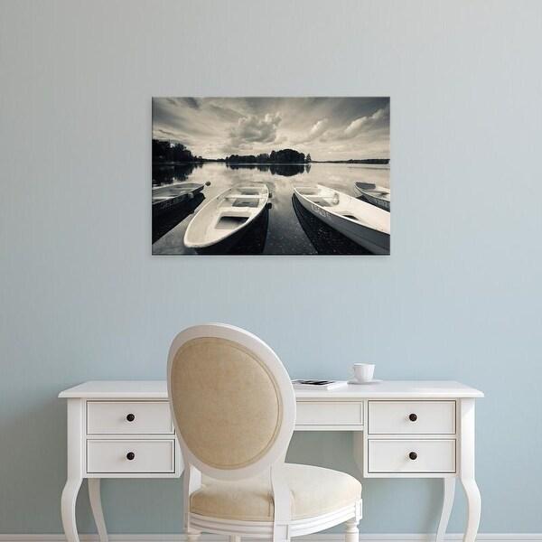 Easy Art Prints Walter Bibikow's 'Lake Galve' Premium Canvas Art