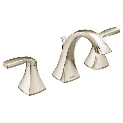 Moen T6905 Voss Double Handle Widespread Bathroom Faucet