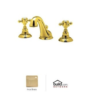 Rohl A1408XM-2 Country Bath Widespread Bathroom Faucet with Pop-Up Drain and Metal Cross Handles
