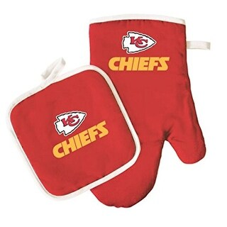 Kansas City Chiefs Oven Mitt & Pot Holder