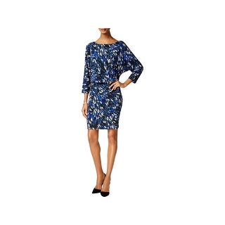 Nine West Womens Wear to Work Dress Printed Blouson (4 options available)