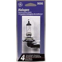 GE 18510 Composite Halogen Headlamp Miniature Bulb #9006/BP, 13 V, T4
