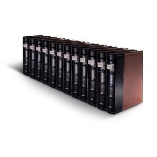 Bellagio-Italia Brown Leather CD/DVD Binder 12 pack|https://ak1.ostkcdn.com/images/products/is/images/direct/920891940ee03e865cebd6c381d5b9dc1aabaf8c/Bellagio-Italia-Brown-Leather-CD-DVD-Binder-12-pack.jpg?impolicy=medium