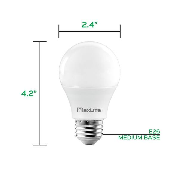Soft White 600 Lumens Dimmable Ceiling Fan Light Bulbs E26 Medium Base 7W 16 Pack Indoor and Outdoor UL Listed 3000K Enclosed Fixture Rated Luxrite A15 LED Bulb 40W Equivalent