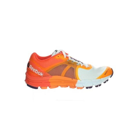 Reebok Womens One Guide 3.0 Orange Running Shoes Size 8