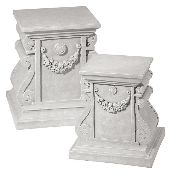 Design Toscano Classic Statuary Plinth Base: Large