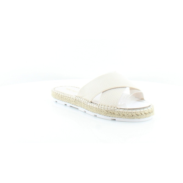 Nine West Demetria Women's Sandals & Flip Flops Off White - 6