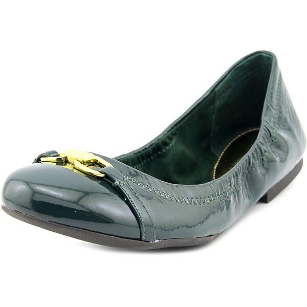 Lauren Ralph Lauren Betsy Women Round Toe Patent Leather Green Ballet Flats