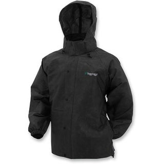 Frogg Toggs Pro Action Rain Jacket Black All Sizes