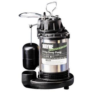 Wayne CDU980E Submersible Sump Pump, 3/4 HP, 120 V