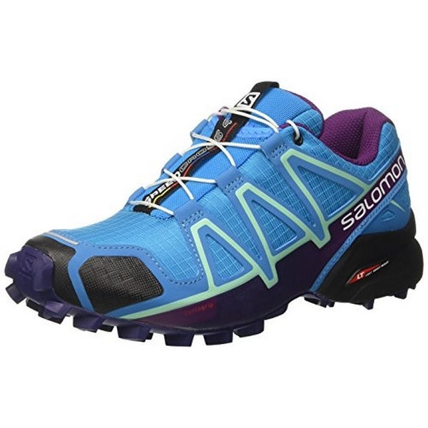 Salomon Womens Speedcross 4 W, Hawaiian Surf/Astral Aura/Grape Juice