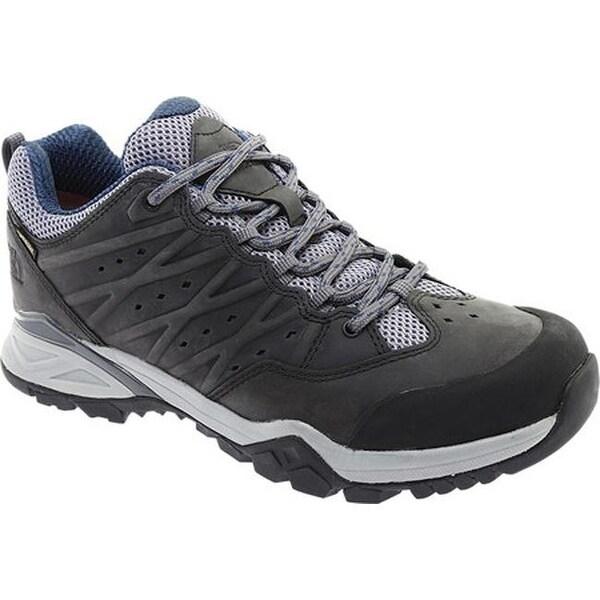 56d1363c46556 Shop The North Face Men s Hedgehog Hiker II GTX Zinc Grey Shady Blue ...