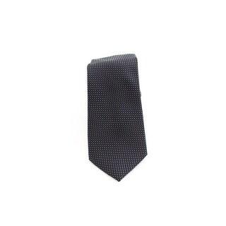 Designer Brand Micro Pattern Woven Men's Neck Tie Silk