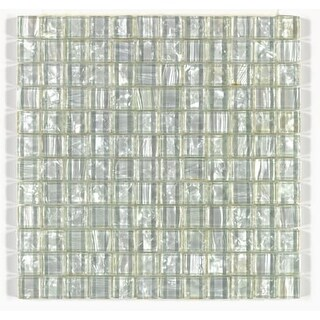 Mohawk Industries 15286 Pearl Shimmer Floor Tile - 12 Inch X 12 Inch (Sold by Sh - pearl shimmer