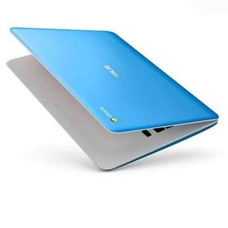 "Asus 13.3"" Laptop W/ Intel Celeron N3060, 4Gb Ram & 16Gb Emmc - Light Blue"